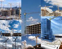工地建筑摄影高清图片