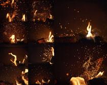 星星火焰摄影高清图片