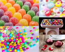 彩色糖果摄影高清图片