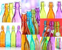 彩色的瓶子摄影高清图片
