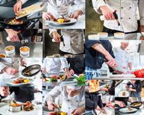 厨房厨师摄影高清图片