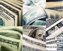 纸币美元摄影高清图片