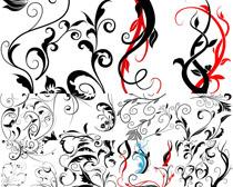 绘画花纹摄影高清图片