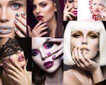 彩妆欧美女人拍摄高清图片