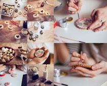 手工饼干食物摄影高清图片