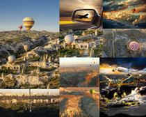 天空风景气球摄影高清图片
