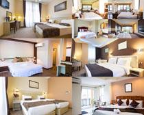 宾馆房间摄影高清图片