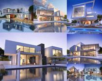 别墅建筑景观摄影高清图片