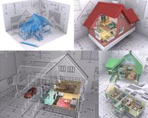 房屋户型3D摄影高清图片