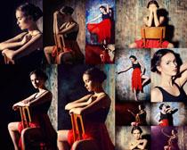 舞蹈女孩拍摄高清图片