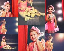 芭蕾舞儿童摄影高清图片