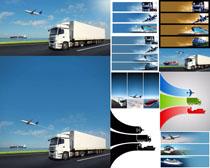 天空与交通工具摄影高清图片
