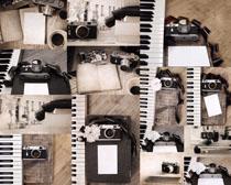 怀旧数码相机摄影高清图片