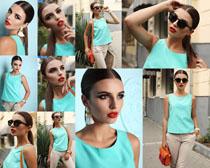 欧美服装女人摄影高清图片