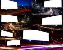 城市夜景风光摄影高清图片