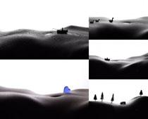 人体艺术展示摄影高清图片