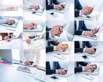 办公笔记本摄影高清图片