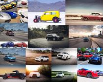 高档跑车汽车摄影高清图片