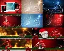 圣诞节日装饰背景摄影高清图片