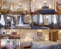 卧室家居摄影高清图片