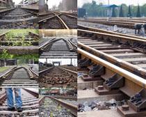 铁轨道路摄影高清图片