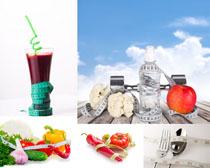 营养食物健身摄影高清图片