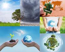 关爱环境地球摄影高清图片