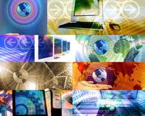 商务科技背景摄影高清图片