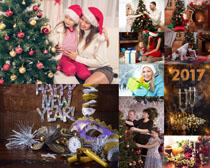 快乐圣诞节人物摄影高清图片