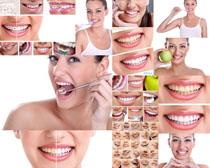 欧美女子牙齿摄影高清图片