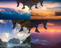 美丽的天空景观摄影高清图片