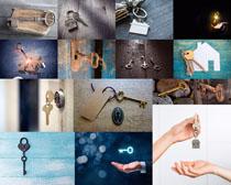 古典钥匙摄影高清图片