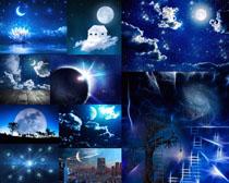 夜色风景摄影高清图片