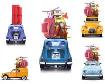 小型汽车摄影高清图片