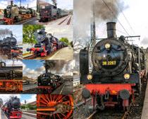 火车列车摄影高清图片