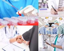 工作上的医生摄影高清图片