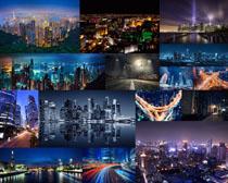 美丽的城市夜景摄影高清图片