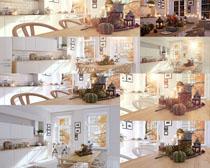 廚房裝飾與食物攝影高清圖片