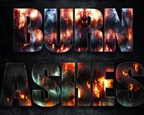 火焰字体PS样式