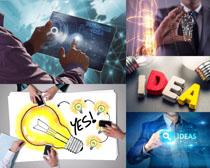 商务展示科技摄影高清图片
