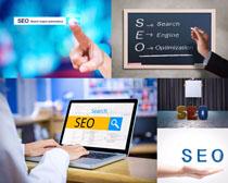 网络SEO信息展示摄影高清图片