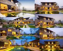 漂亮的别墅建筑摄影高清图片