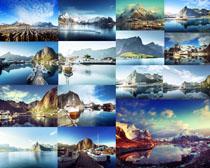 美丽的山水景观拍摄高清图片