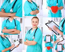 欧洲爱心医生摄影高清图片