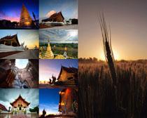 美丽的民族建筑风景摄影高清图片