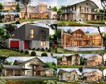 别墅房屋风情摄影高清图片