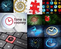 时间与商务标志摄影高清图片