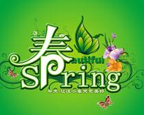 spring春天海报PSD素材