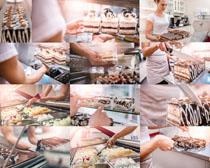 蛋糕制作食物摄影高清图片