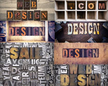 立体字体背景摄影高清图片
